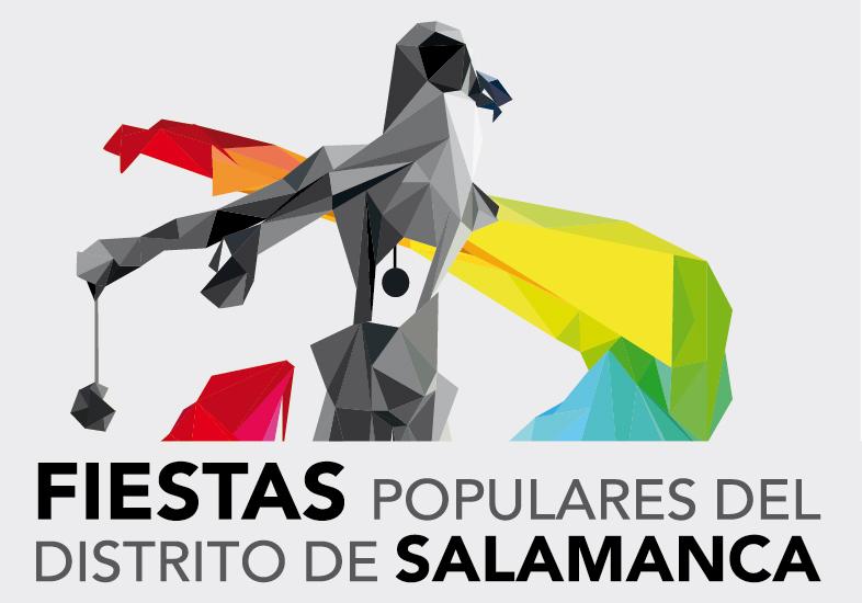 Cartel de las Fiestas Populares del Distrito de Salamanca