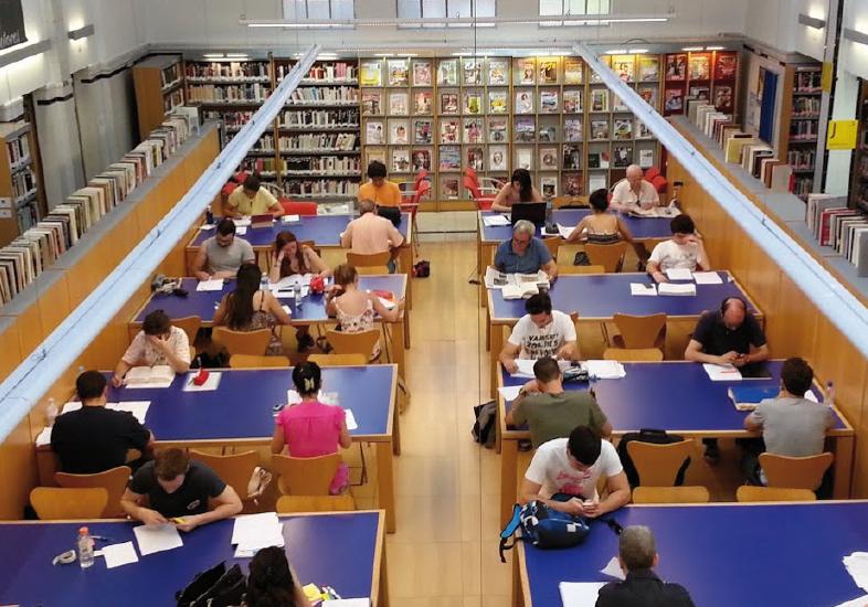 La Biblioteca Buenavista, antes una casa de baños
