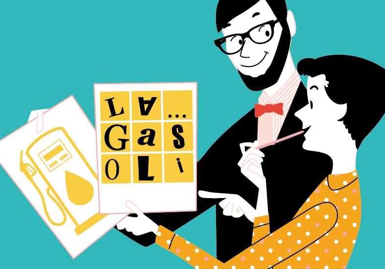 """""""La Gasolinera"""" busca logotipo"""