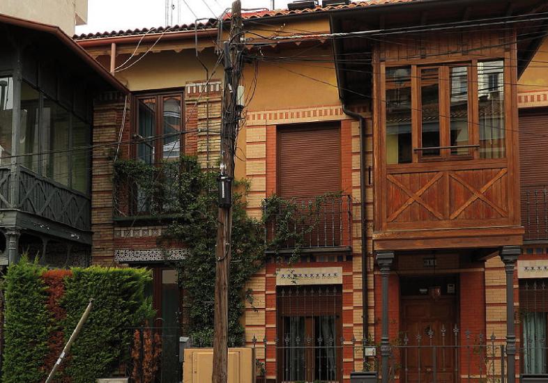 Calle Roma Madrid Moderno