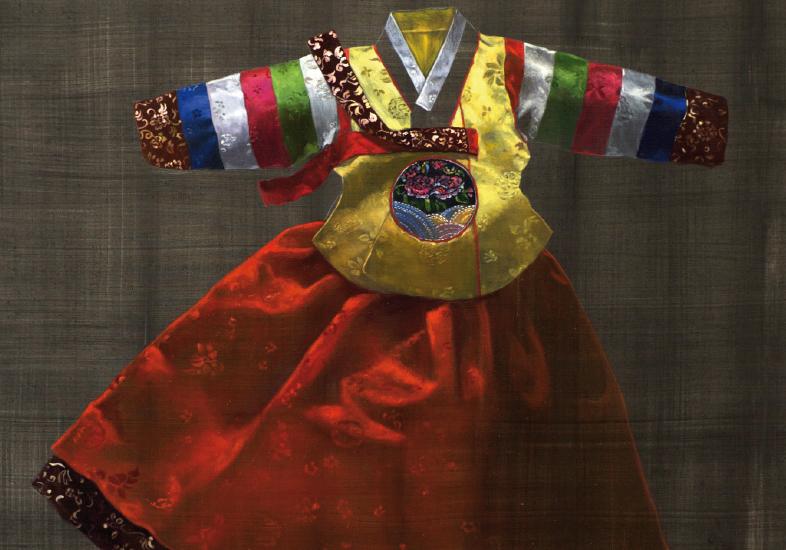 pintura-tradicion-traje-coreano