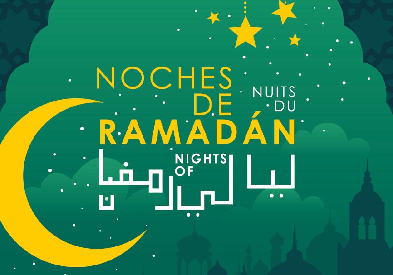 imagen cartel Noches de Ramadán en Madrid