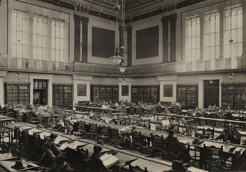 Recoletos 20-22 Biblioteca