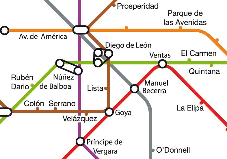 Metro Salamanca Distrito
