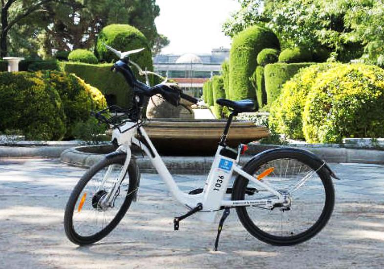 Bici Madrid Velazquez