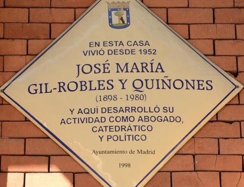 2. La casa de JOSÉ MARÍA GIL-ROBLES Y QUIÑONES