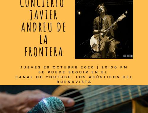 CONCIERTO JAVIER ANDREU DE LA FRONTERA