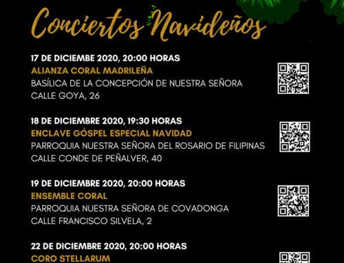 Programa cultural 2020 – Conciertos Navideños