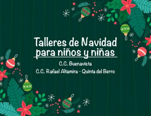 Talleres de Navidad para niños y niñas
