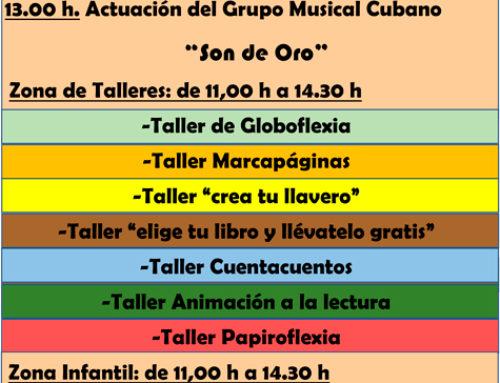 Jornada Lúdica Infantil en el Distrito de Salamanca con motivo del Día del Libro