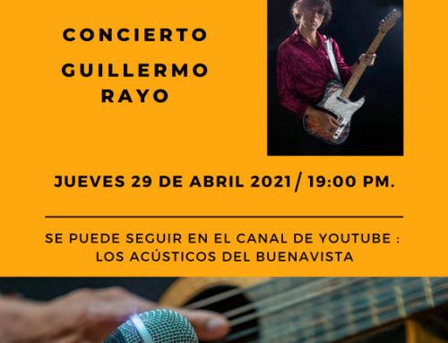Los Acústicos del Buenavista: Guillermo Rayo