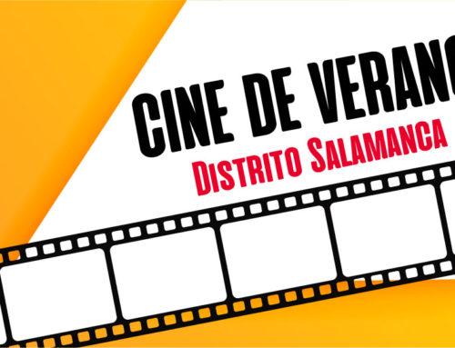 Cine de Verano en el distrito de Salamanca