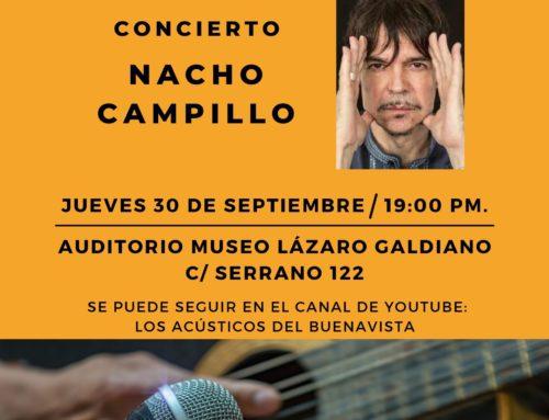 Nacho Campillo en Los Acústicos del Buenavista