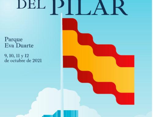 Conmemoración de las Fiestas del Pilar 2021 en el distrito de Salamanca